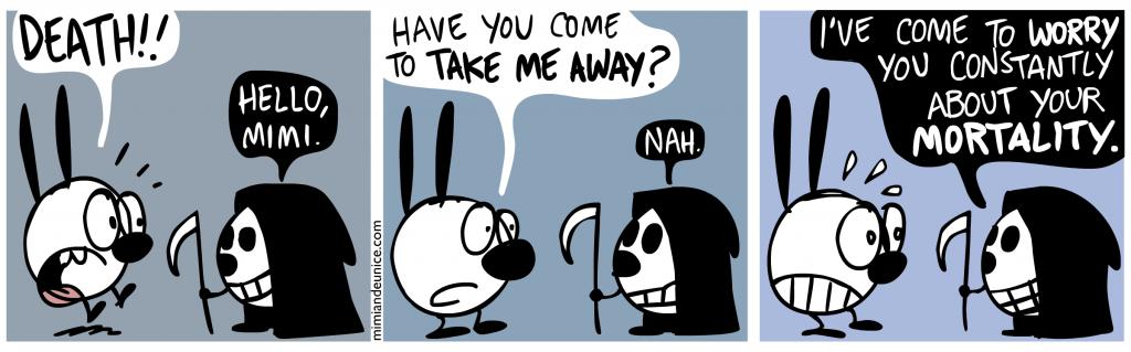 death comic